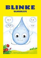 Blinke vanndråpe