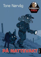 Politihunden Falk på nattevakt