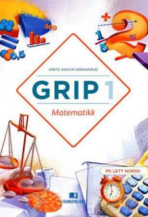 Grip 1 Matematikk Grunnbok, d-bok (NYN)