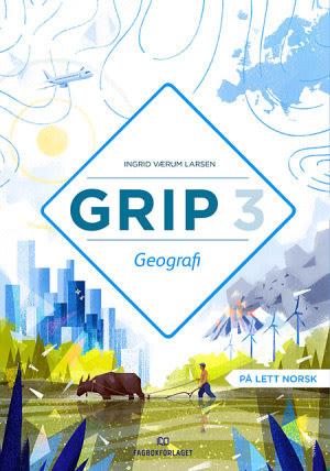 Grip 3  Geografi Grunnbok, d-bok (NYN)