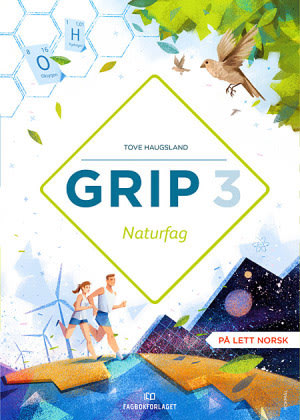 Grip 3  Naturfag Grunnbok, d-bok