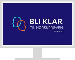 Bli klar til norskprøven A1-B2, enkeltlisens (NYN)