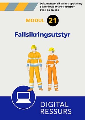 Sikker bruk av arbeidsutstyr Modul 21, powerpoint