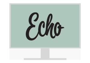 Echo nettressurs elev