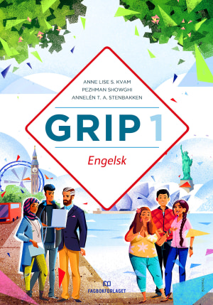 Grip 1 Engelsk Grunnbok, d-bok
