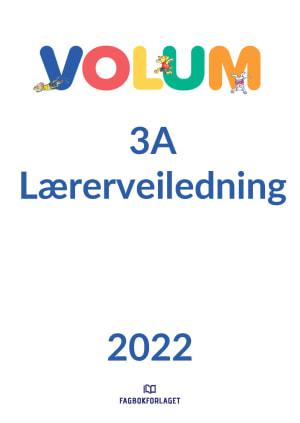 Volum 3A Lærerveiledning