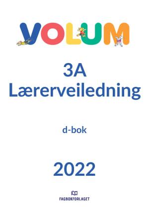 Volum 3A Lærerveiledning, d-bok