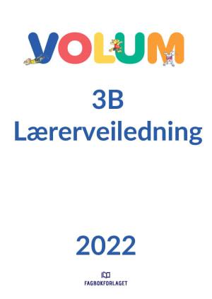 Volum 3B Lærerveiledning