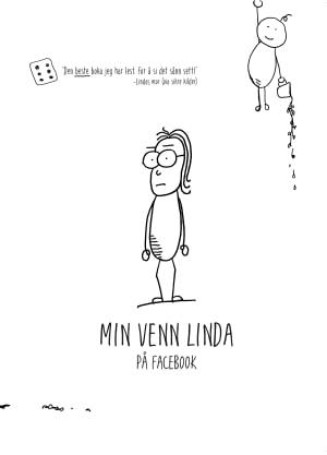 Min venn Linda på Facebook
