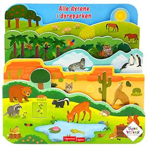 Alle dyrene i dyreparken