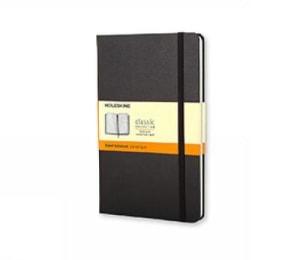 Ruled notebook. Linjert. Lommeformat. Moleskine
