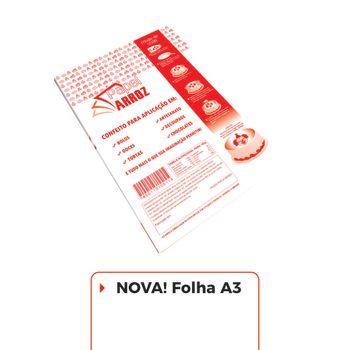 Folha de Instrução - A3 - Pacote com 100 folhas