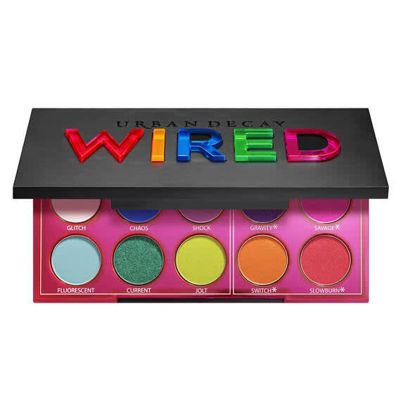 Urben Decay Wired Pressed Pigment Palette