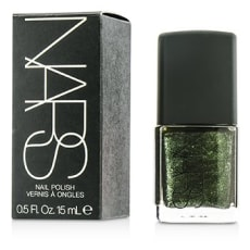 Nars Night Series Night Porter Nail Polish 0.5 Oz (15 Ml) Black W Green Pearls by Nars  for Women