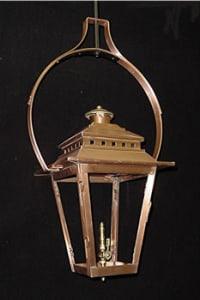 Ashley Street Yoke Mounted Hanging Outdoor Lantern