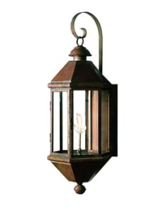 Bavarian Lantern by Copper Sculptures