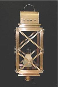 High Battery Post Top Outdoor Lantern