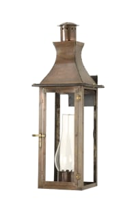 Regency bracket mount lantern