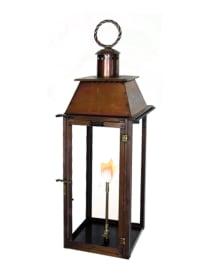 Milan Bracket Mount Gas Lantern