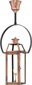 Hanging Yoke Copper Lantern by Primo