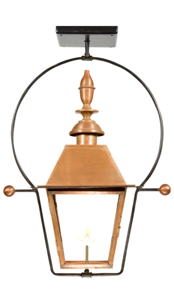Estate Lantern by Copper Sculptures