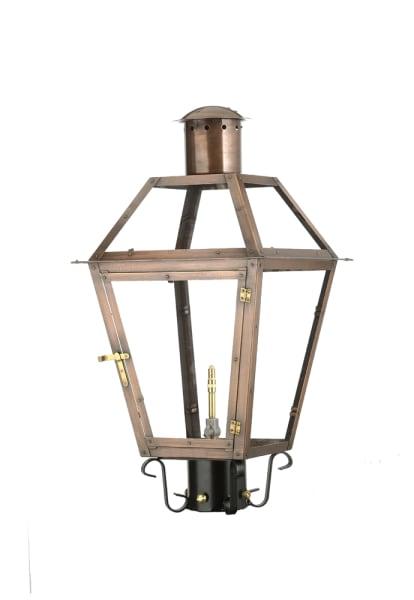 Bourbon Street post lantern