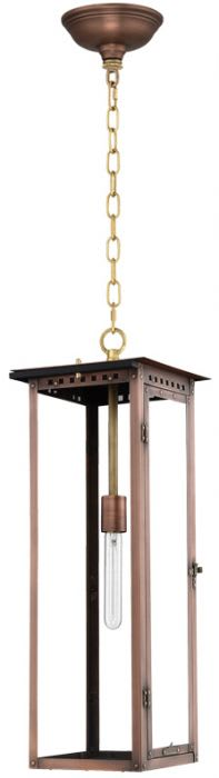 Alantown Hanging Chain Copper Lantern by Primo