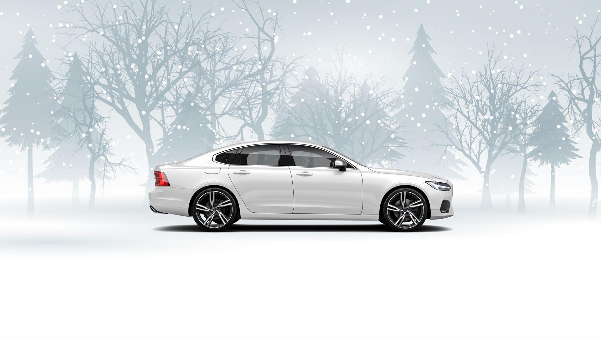 Volvo S90 T8 Plug-in Hybrid R-Design m/AWD og Automat