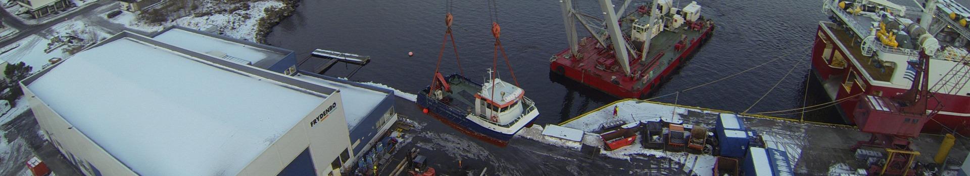 Utbygging av anlegget til Frydenbø Industri Ålesund