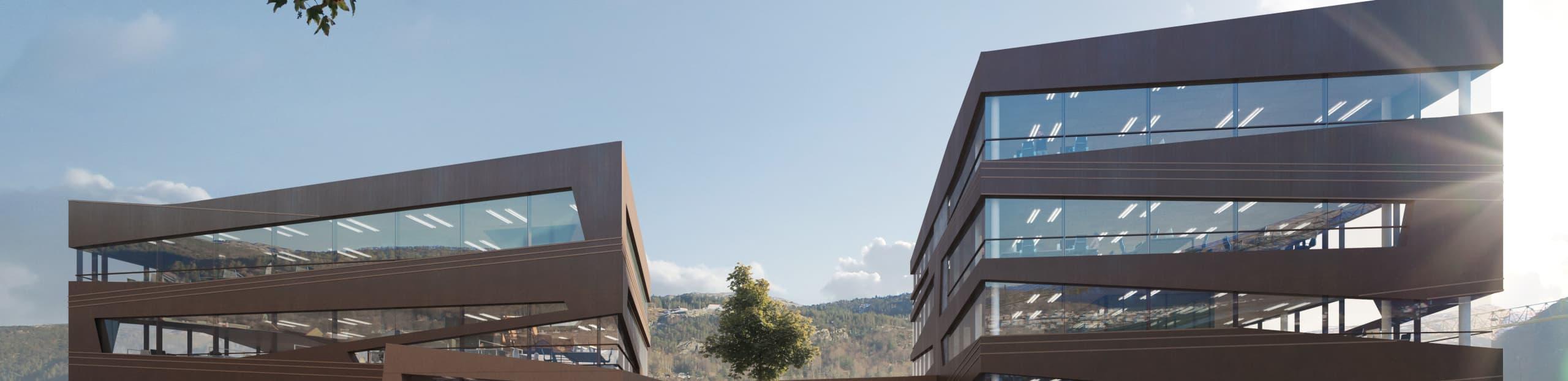 Kilen- praktbygg i hjerte av Damsgård