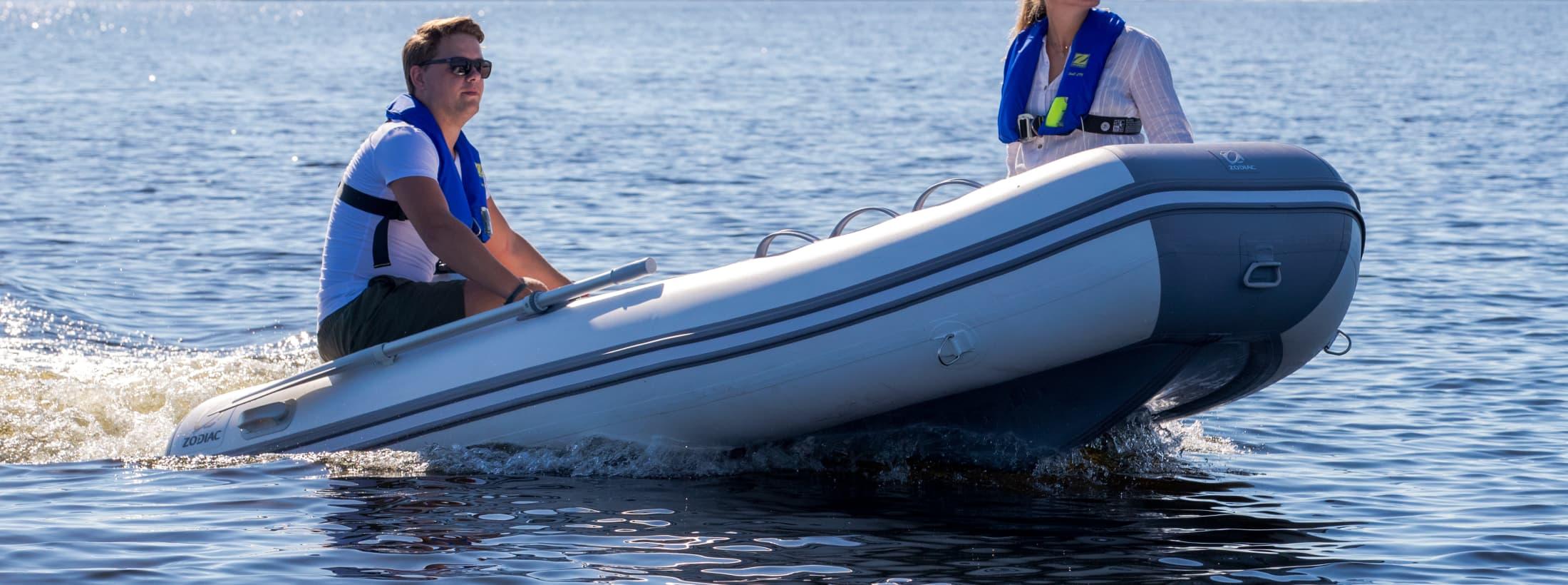 Cadet - gummibåter av kvalitet Zodiac - kvalitetsbåter siden 1934
