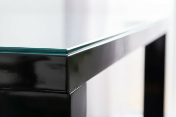 Clear Tempered Glass Dining Table Top Protector/Topper