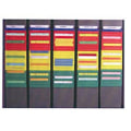 Painel Porta Fichas Flexitrol Kanban/First In First Out   Controles Visuais