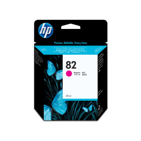 Cartucho Ch567 A Magenta 82 28 Ml   Hp