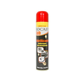 Oleo Lubrificante 321ml Spray   Rocast