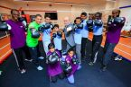 Barry McGuigan Boxing Academy Celebrates setting down roots in the Copper Box Arena to continue their Legacy Campaign with LLDC and GLL