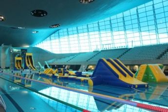 Fun for all the family at the London Aquatics Centre