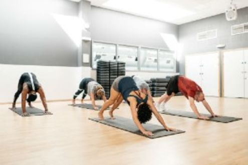 Yoga classes at Better