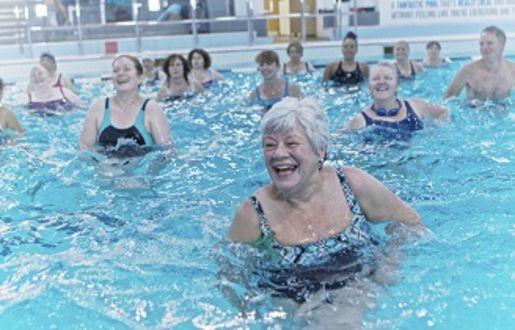 Aqua Classes in Bath Sports and Leisure Centre