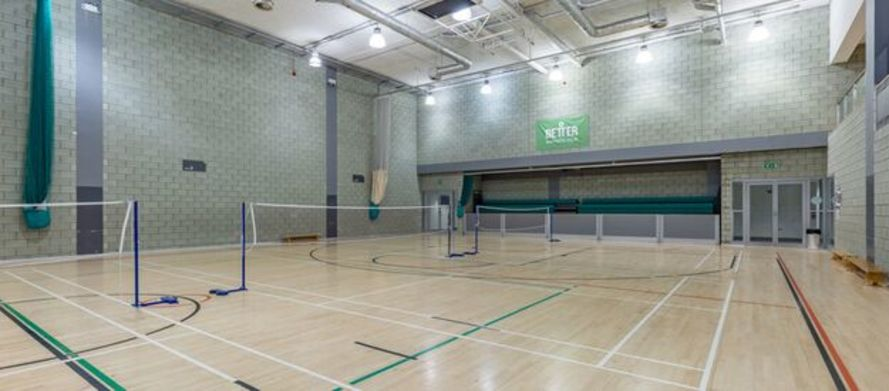 Sports Hall At Swiss Cottage Leisure Centre