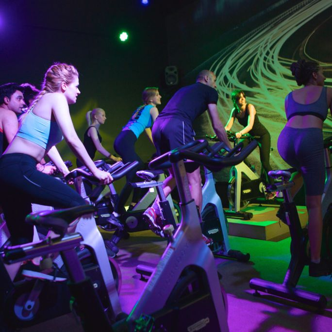 Group Cycle Classes Near Me | Stationary Bike Workouts | Better
