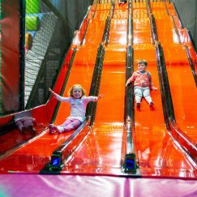 Soft play slides
