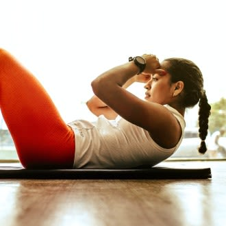 Exercising regularly is good for maintaining a healthy weight