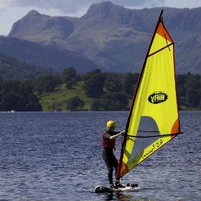 Windsurfing windemere 287