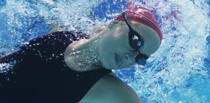 Swim woman front crawl  4  tablet