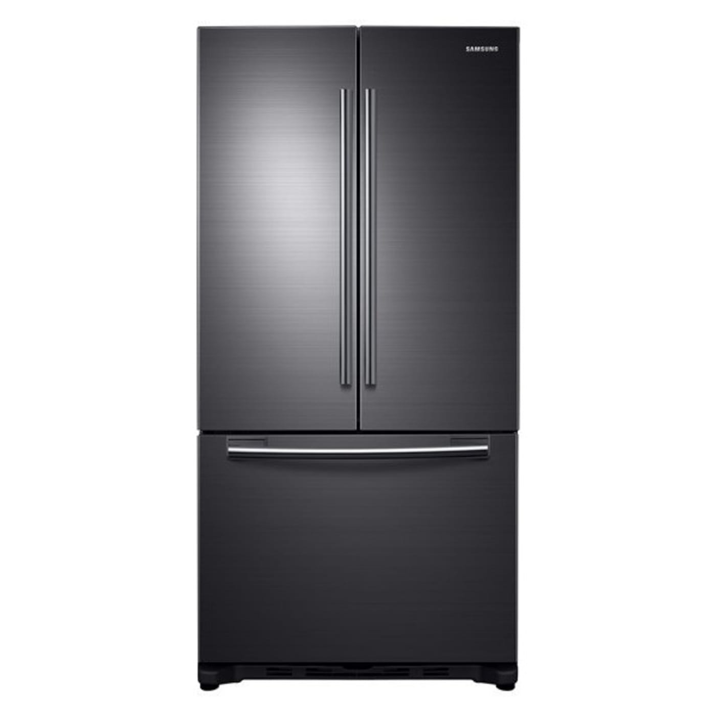 "Samsung RF20HFENBSG 32"" 20 cu ft Black Stainless Steel Counter"