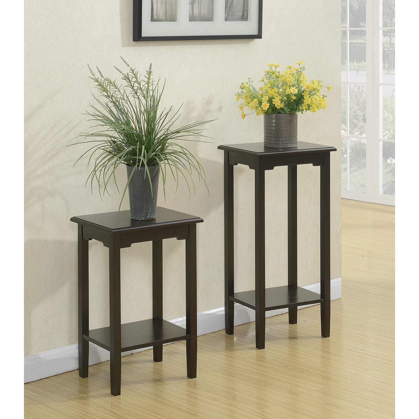 Convenience Concepts R4 0248 American Heritage Espresso 24 Plant Stand