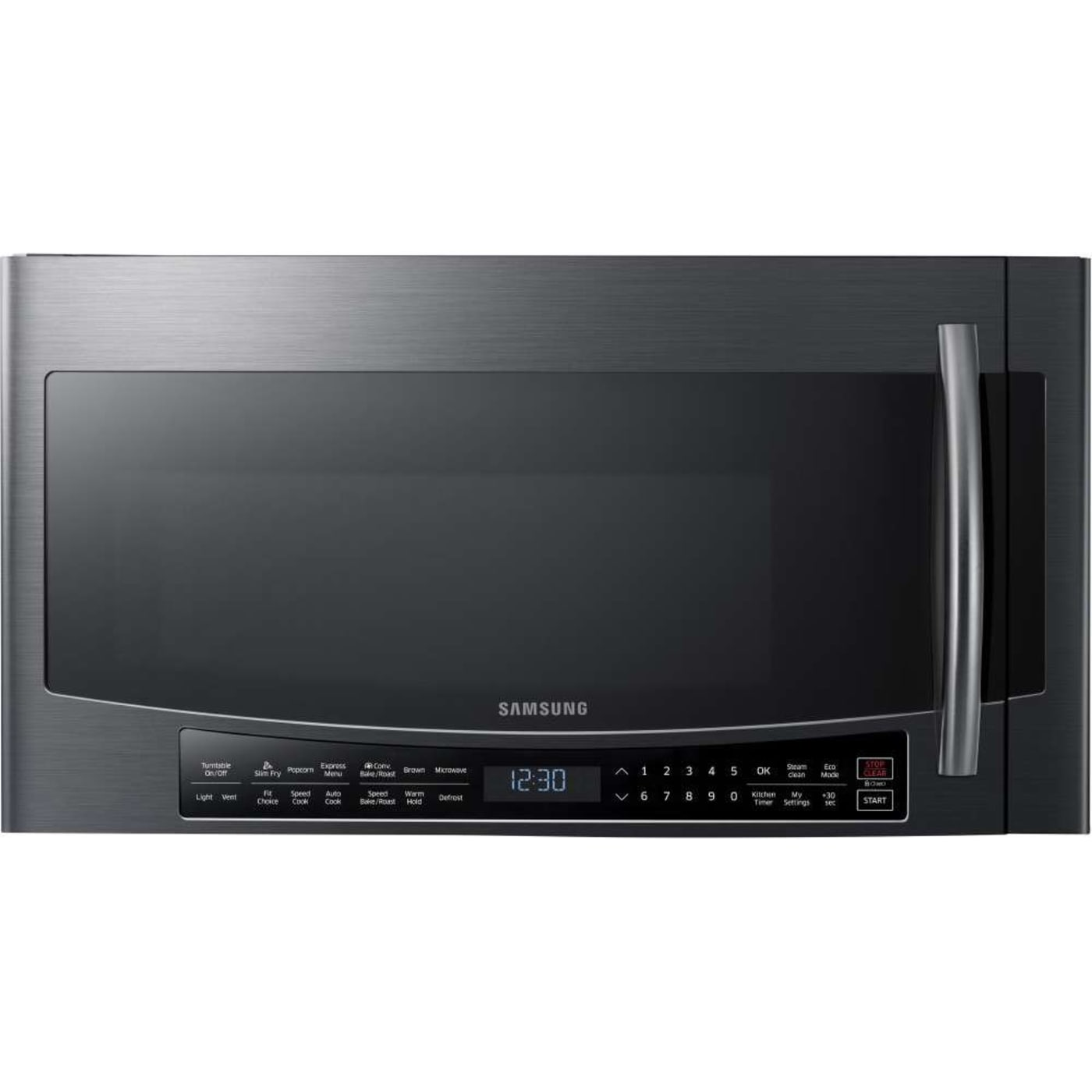 Samsung MC17J8000CG 1 7 Cu Ft Black Stainless Steel Over the Range