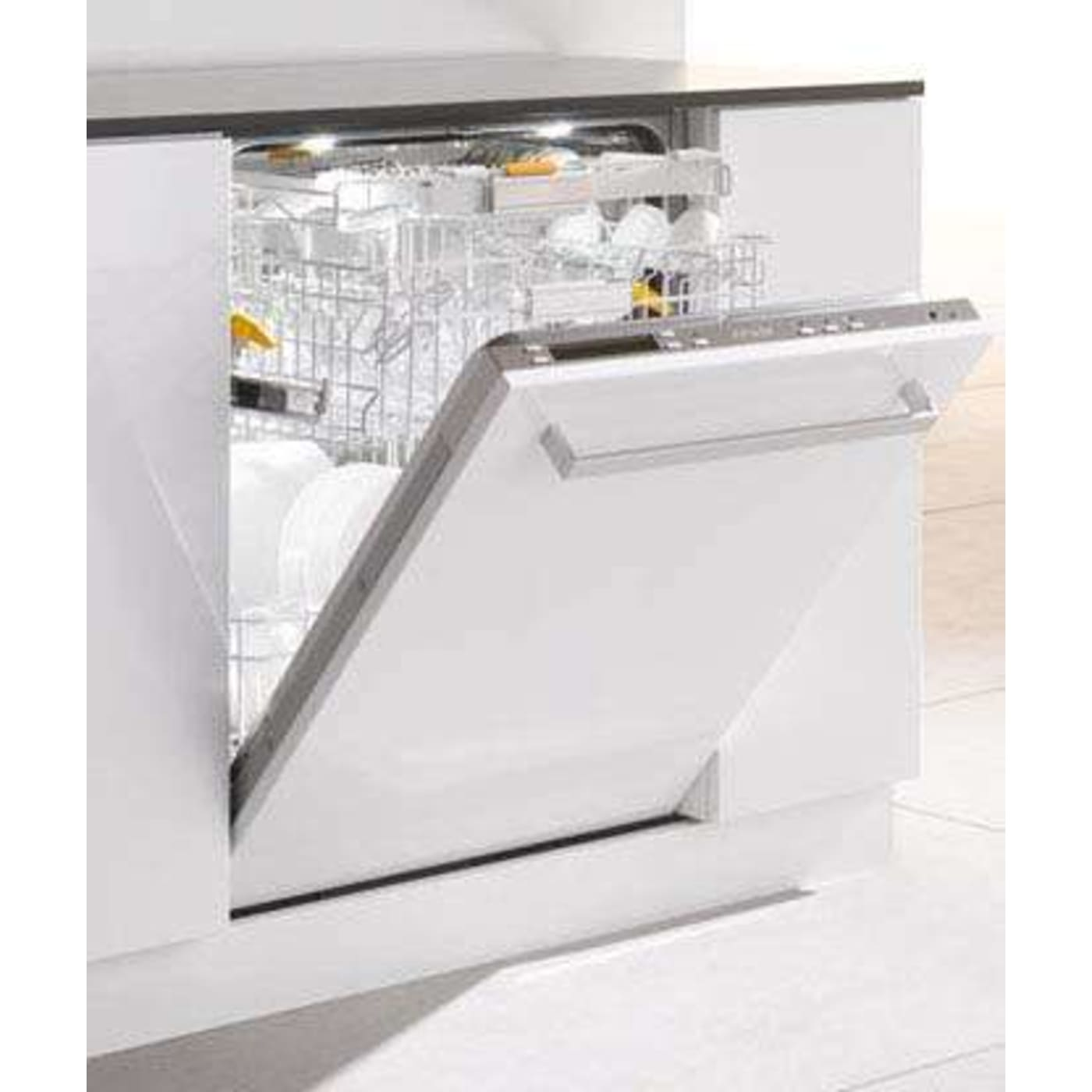 Stainless Steel Fully Integrated Dishwasher  Energy Star Miele G5975Scsfss