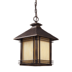 Elk Blackwell Hazlenut Bronze 1-Light Outdoor Pendant